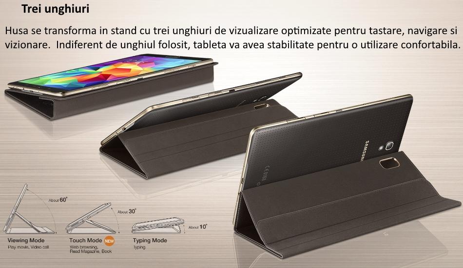 Husa Book Cover pentru Samsung Galaxy Tab S 8.4 inch 1