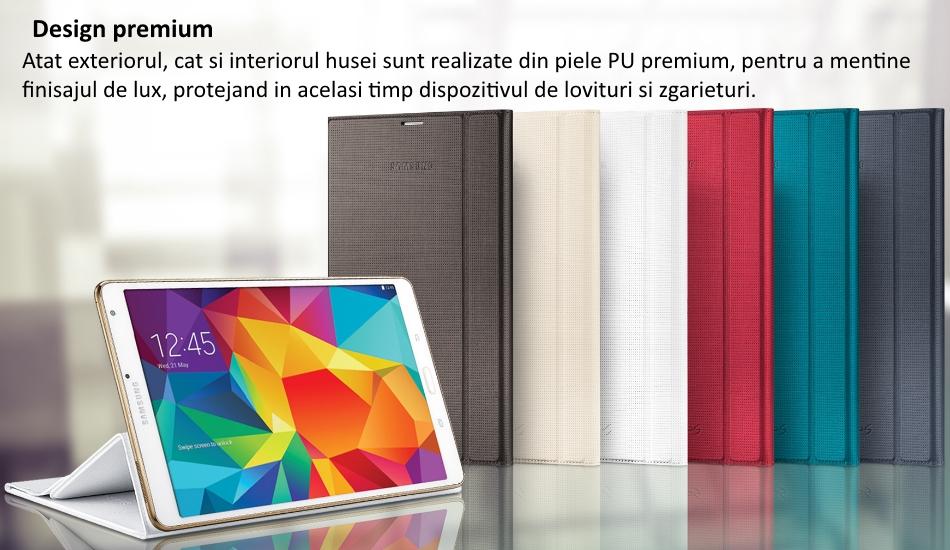 Husa Book Cover pentru Samsung Galaxy Tab S 8.4 inch