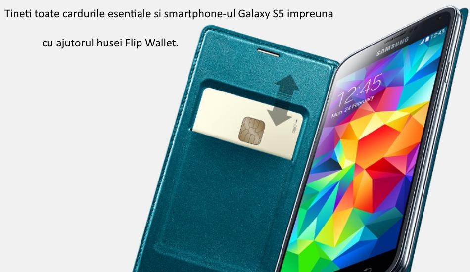 Husa Flip Wallet Cover Moschino pentru Samsung Galaxy S5 (G900) 4