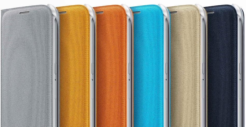 Husa Flip Wallet Fabric pentru Samsung Galaxy S6 (G920)