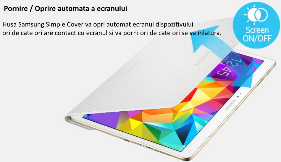 Husa Simple Cover pentru Samsung Galaxy Tab S 10.5 inch 2