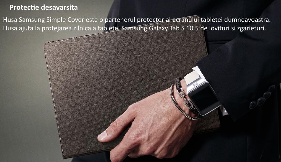 Husa Simple Cover pentru Samsung Galaxy Tab S 10.5 inch