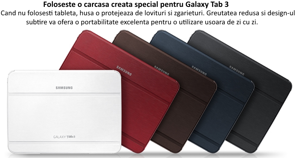 Husa Stand Book Cover pentru Samsung Galaxy Tab Pro 10.1 inch