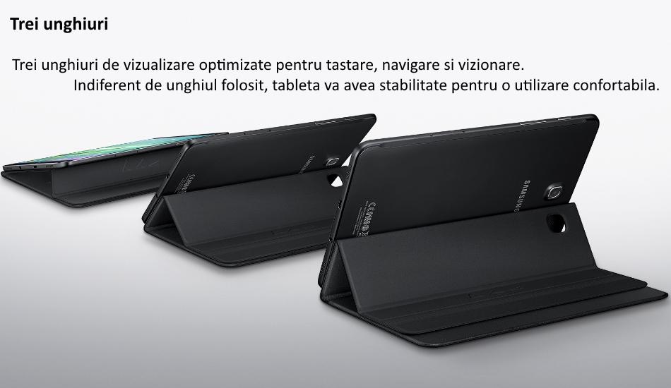 Husa Stand Book Cover pentru Samsung Galaxy Tab S2 8.0 inch LTE