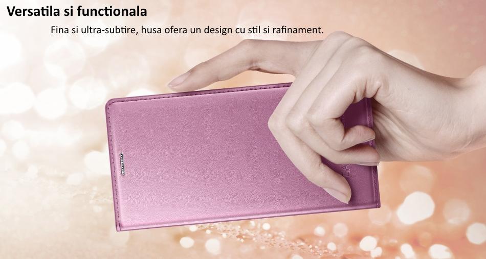 Husa de protectie Flip Wallet pentru Samsung Galaxy S5 Mini (G800) 1