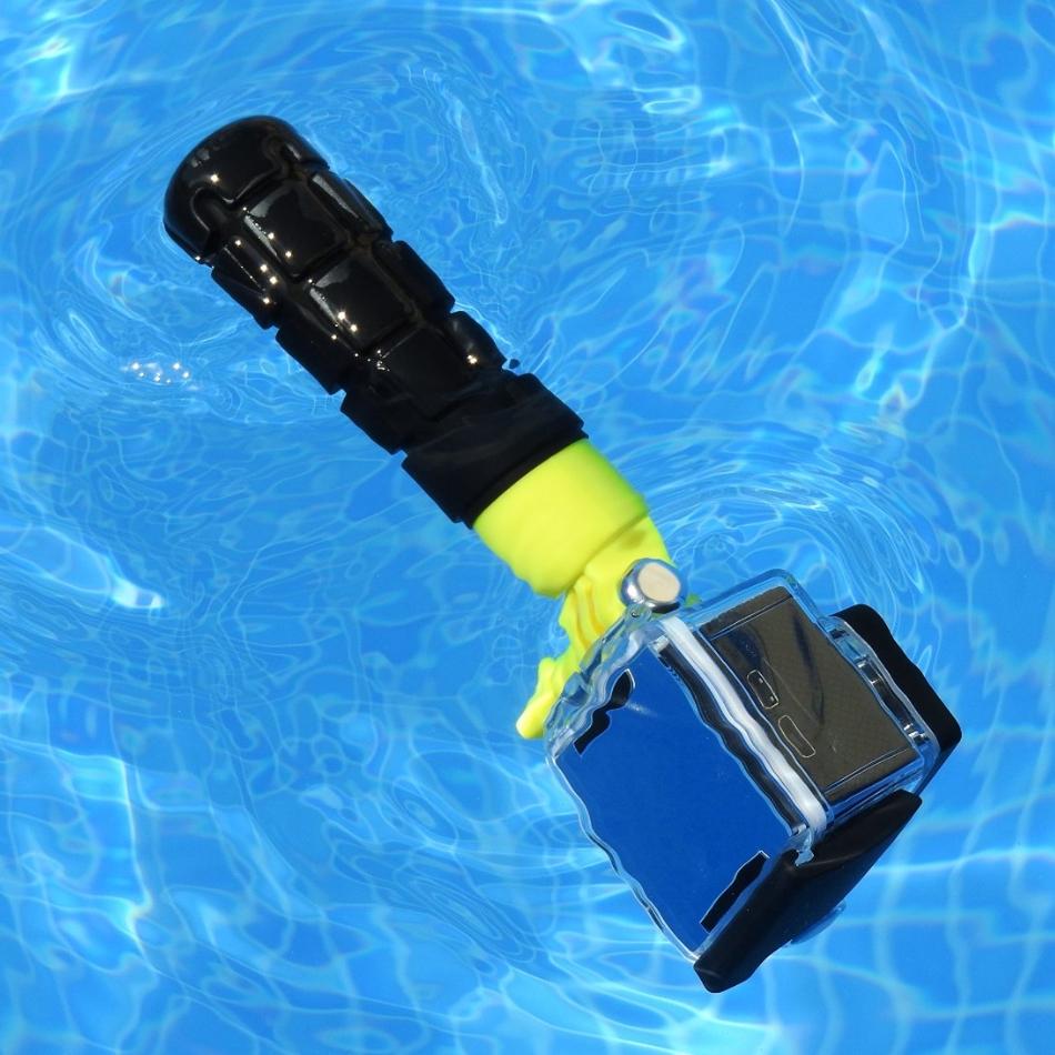 Maner KitVision Bouy universal Floating Grip pentru camera de actiune, KVACTIONBOU