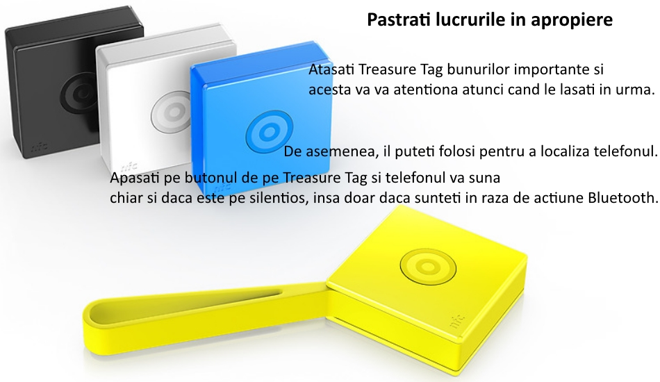 Nokia Treasure Tag 1