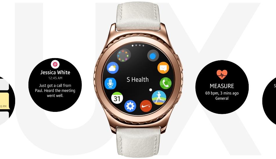 Ceas SmartWatch Samsung Gear S2 Classic, SM-R7320ZKA Black 1