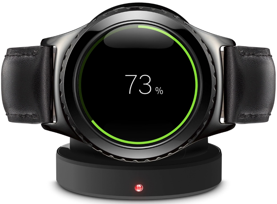 Ceas SmartWatch Samsung Gear S2 Classic, SM-R7320ZKA Black 3