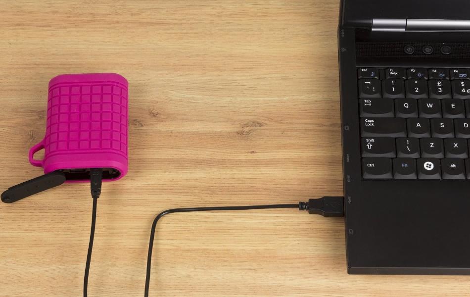 Incarcator portabil universal Kit Outdoor Power Bank 9000mAh, PWRRUGPI Pink 7