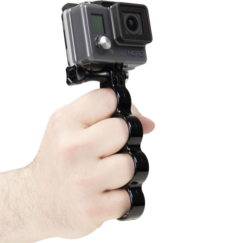 Maner de prindere camere de actiune KitVision Knuckle Grip, KVACTIONKNU universal 1