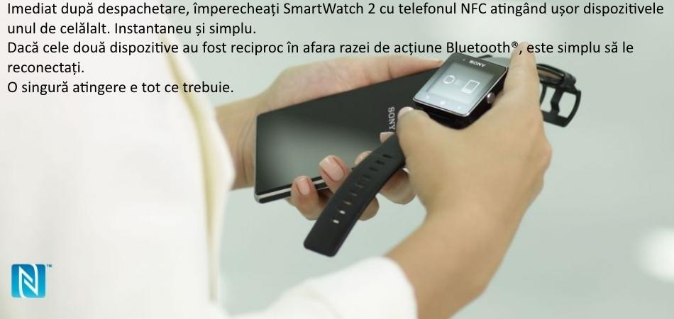 Sony SmartWatch 2 SW2, Leather Black 3