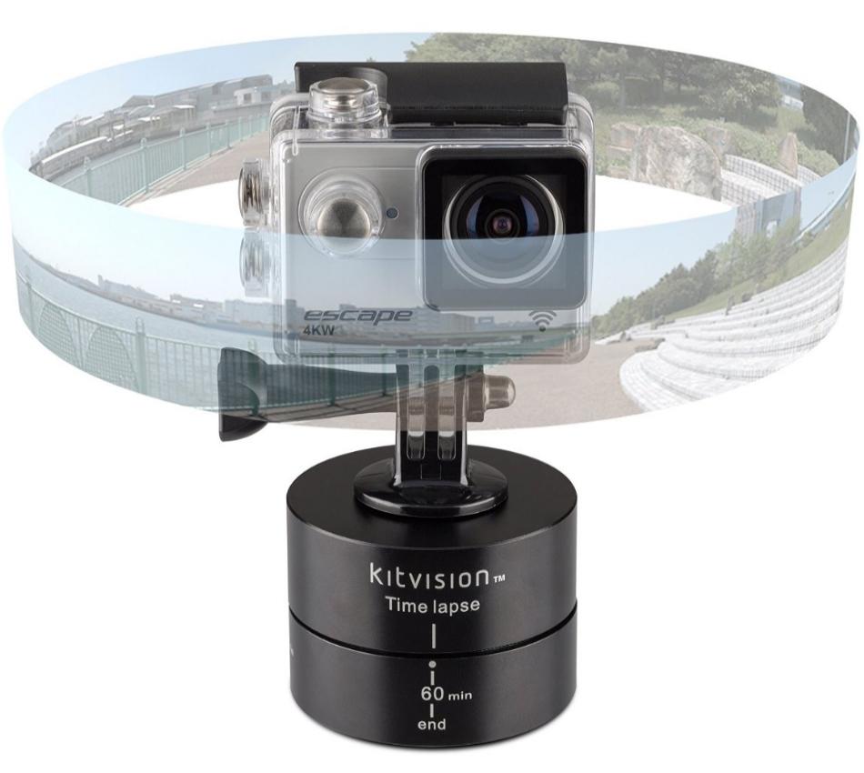 Stand rotativ KitVision Chronos Time Lapse, KVACTIONCHR universal 2