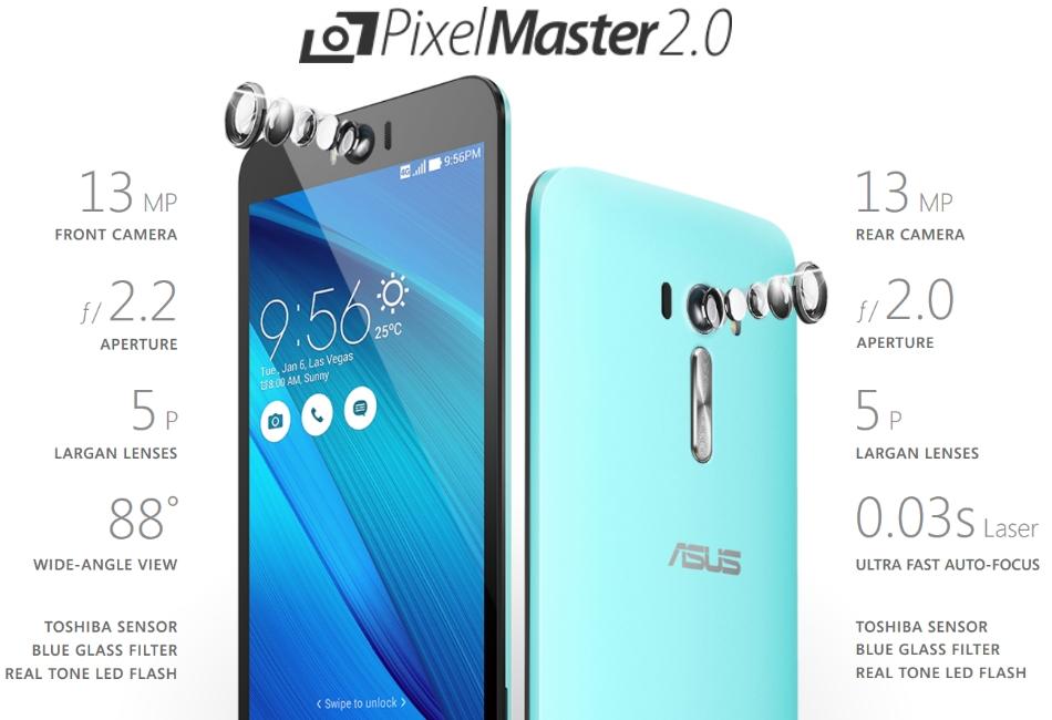 Telefon mobil Dual SIM ASUS ZenFone Selfie ZD551KL, 32GB + 3GB RAM, LTE, Black 2