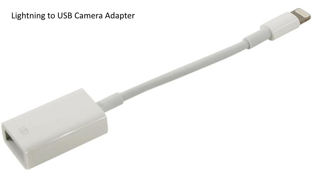 Adaptor cablu Lightning - USB, Apple MD821ZM A