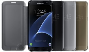 Husa Clear View Cover pentru Samsung Galaxy S7 Edge (G935) 1