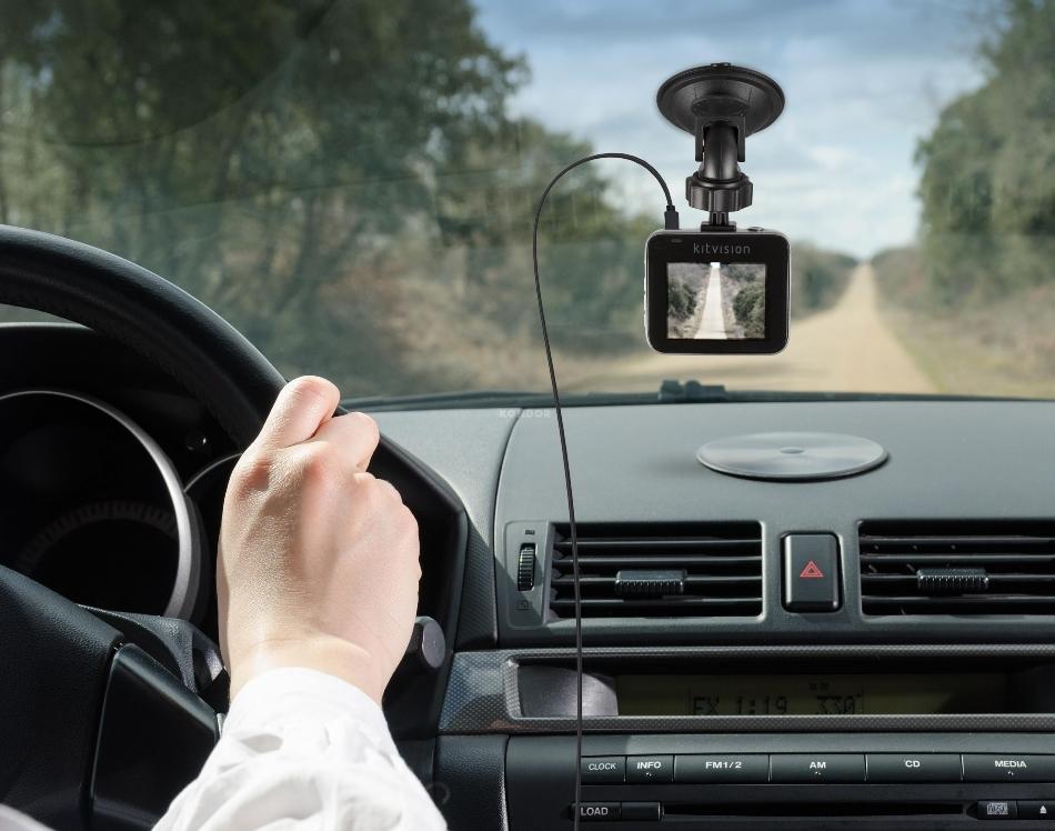 KitVision Observer 720p - Camera video auto HD, KVOB720 Negru