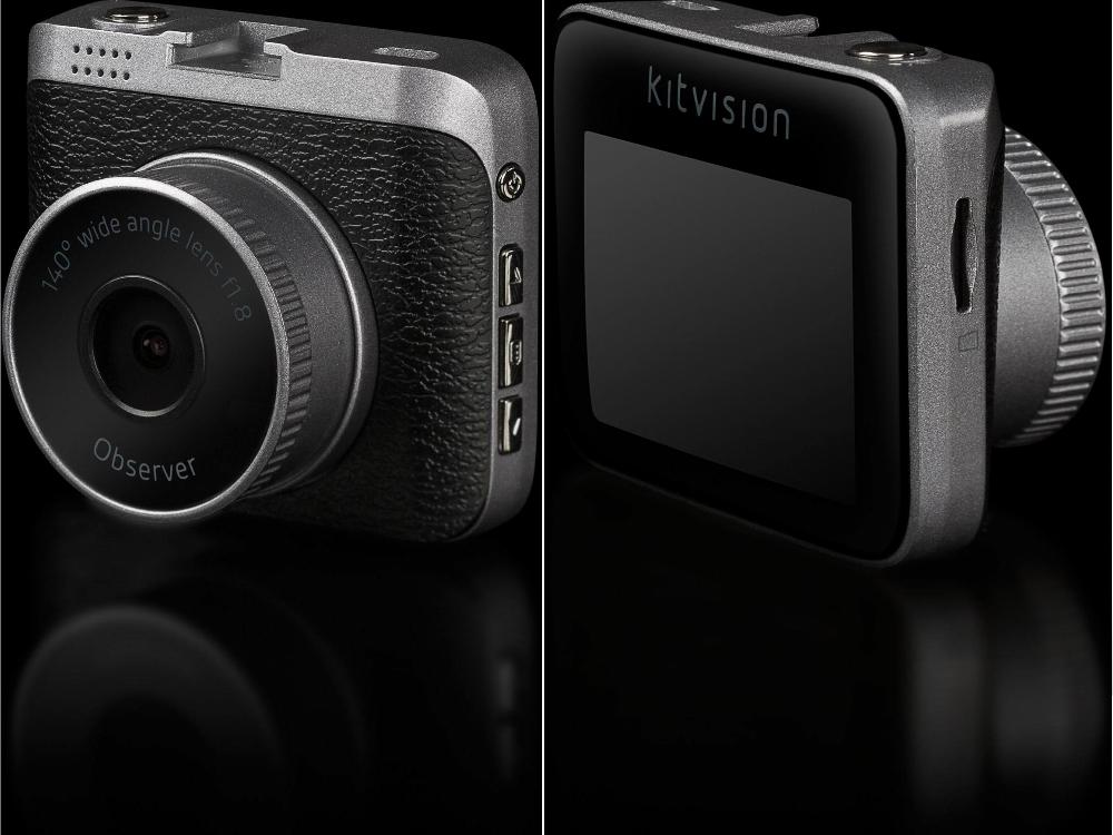 KitVision Observer 720p - Camera video auto HD, KVOB720 Negru 4