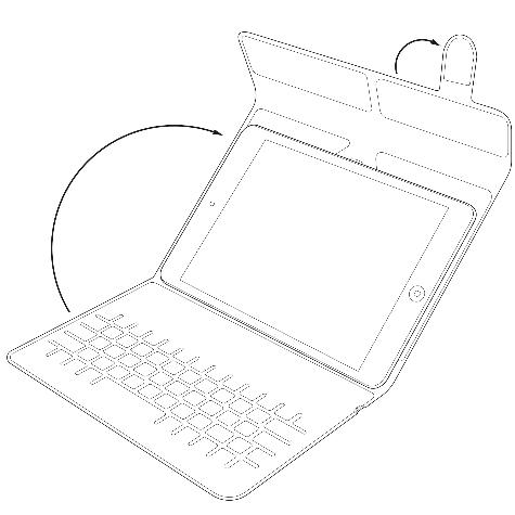 Tastatura Universala Bluetooth Kit pentru tablete 7 - 8, KBMAG7BK Negru 6