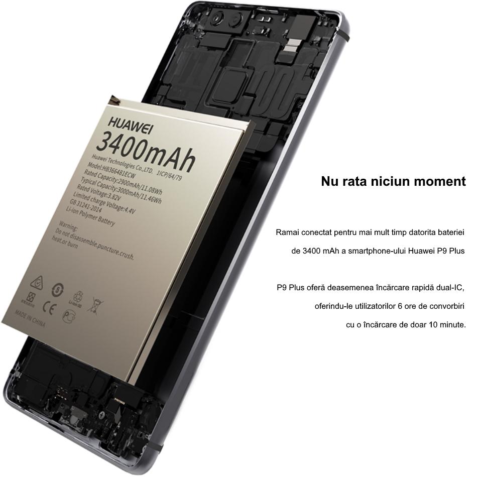 Single SIM Huawei P9 Plus 6