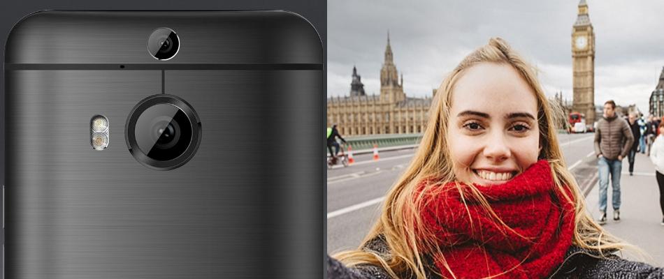 Telefon mobil HTC One M9 Plus, 32GB LTE, Silver Gold 3