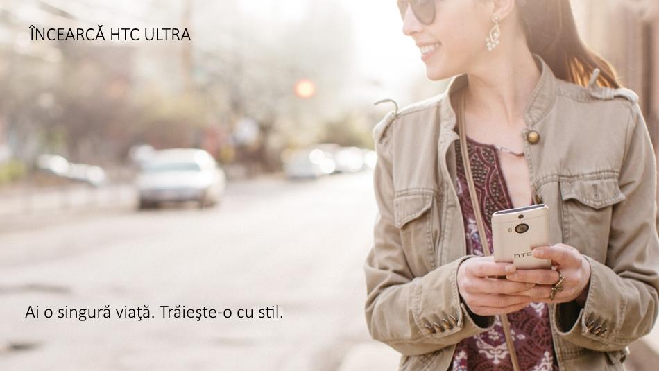 Telefon mobil HTC One M9 Plus, 32GB LTE, Silver Gold