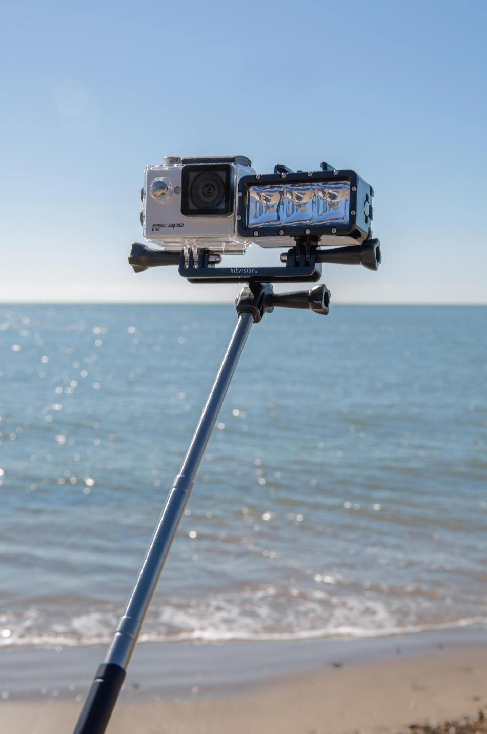 Kitvision Duo - Dual Action Camera Mount - suport dual, KVACDUO 3