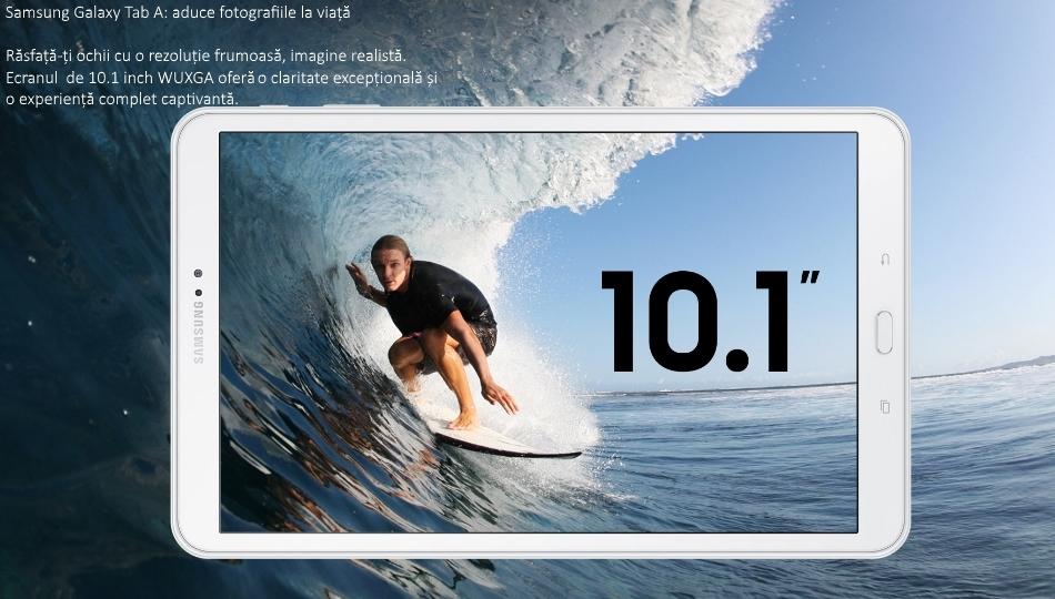 Galaxy Tab A 10.1 (2016), Octa-Core, 16GB + 2GB RAM, LTE, T585