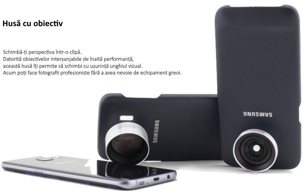 Capac protectie spate Lens Cover pentru Samsung Galaxy Note 7 (N930), ET-CN930DBEGWW Black 6