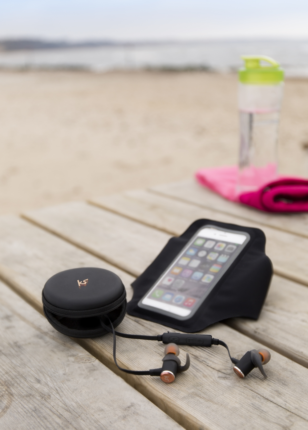 Casti bluetooth stereo KitSound Outrun Evolution Sports, In-Ear, IPX4, microfon incorporat, universal 5