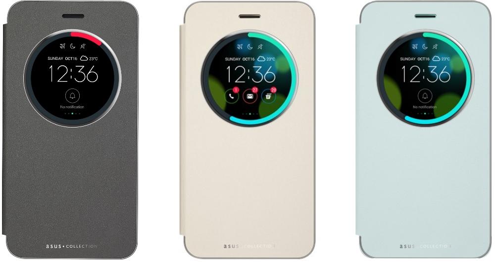Husa View Flip Cover Black pentru Asus Zenfone 3 ZE520KL, 90AC01D0-BCV008 4