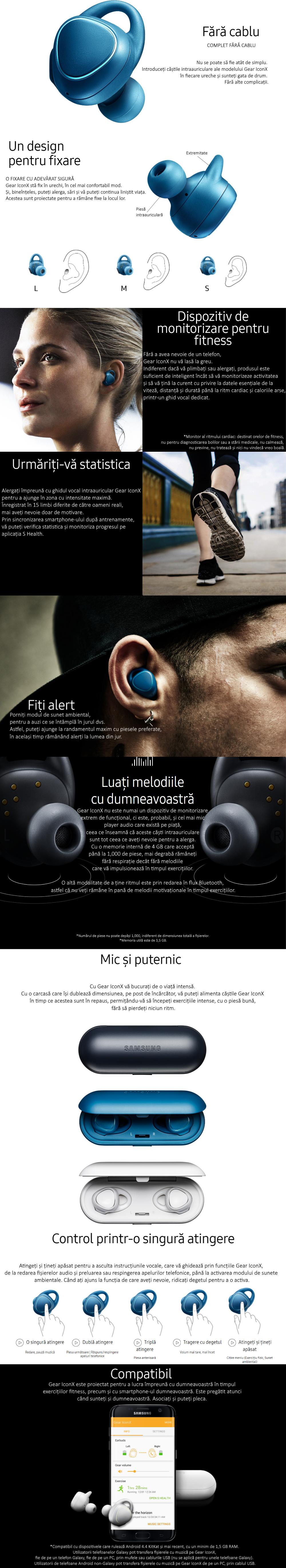 Samsung Gear IconX, SM-R150