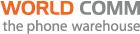 World Comm the phone warehouse Logo