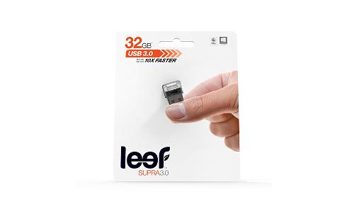 Memorie Flash Drive USB - Leef Supra (Charcoal Band) White LED, USB 3.0