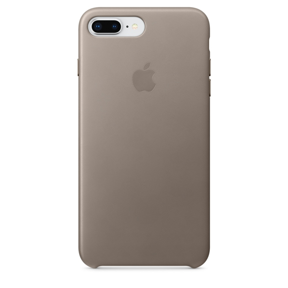 Iphone  Leather Case Taupe